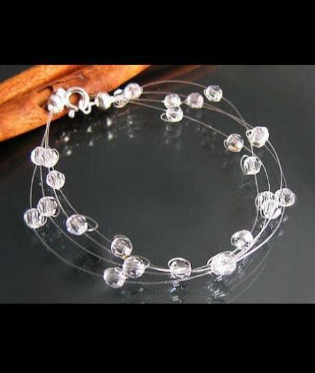 Biżuteria ślubna - Bransoleta Swarovski Crystal 375
