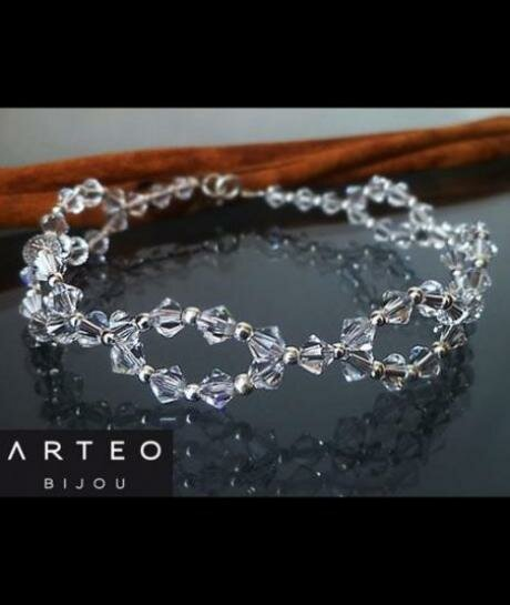 Bransoletka ślubna Swarovski Crystal 361