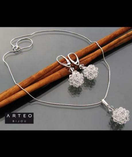 Komplet ślubny Swarovski Crystal 604