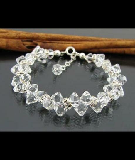 bransoletka ślubna Swarovski krystaliczna 821