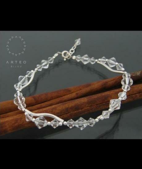 Bransoletka ślubna Swarovski Crystal 192