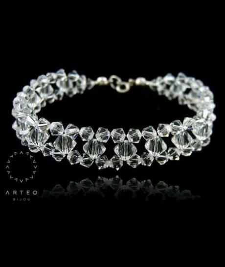 Bransoletka ślubna Swarovski Crystal 290
