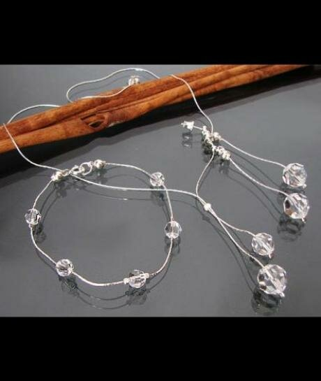Komplet ślubny Swarovski Crystal 719