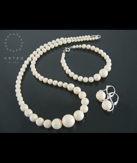 SWAROVSKI perły ivory PUDEŁKO 1274
