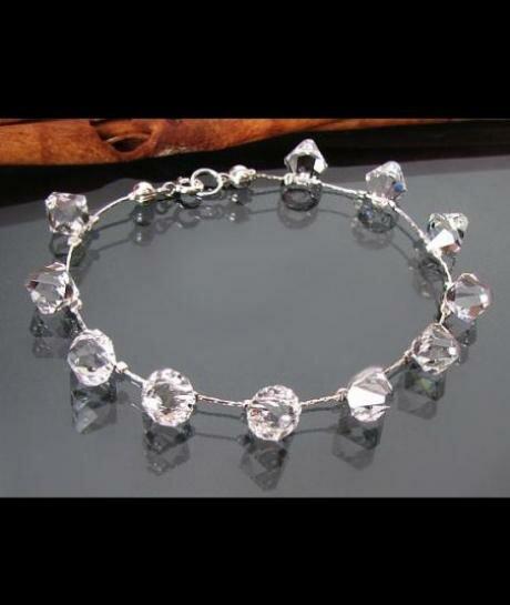 Bransoletka ślubna Swarovski Crystal 685