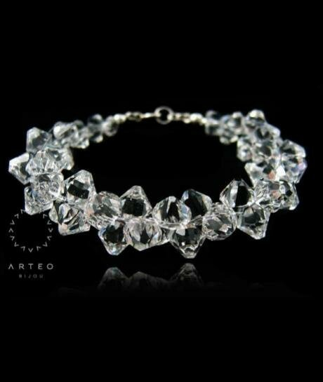 Bransoletka ślubna Swarovski Crystal 615